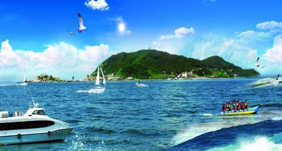 探秘2013中国海洋十大宝岛