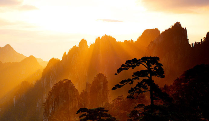 重庆到安徽黄山景区