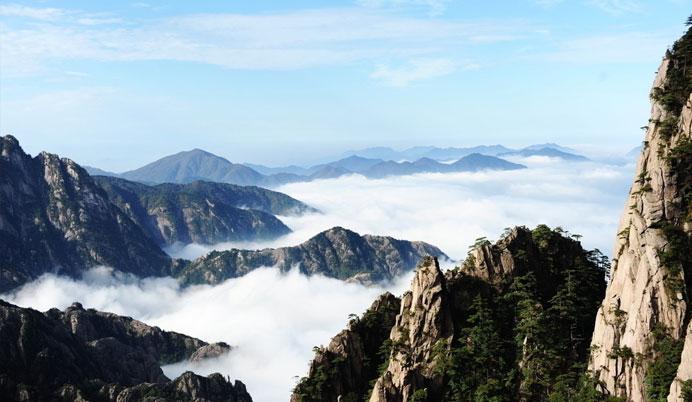 """踏足天下第一奇山----【黄山风景区】体会""""五岳归来不看山,黄山归来"""
