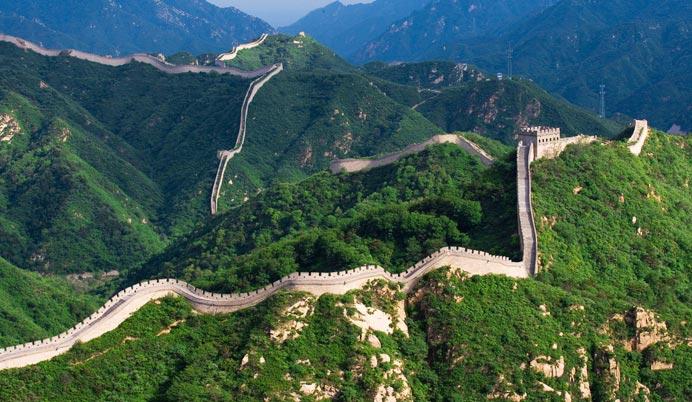 北京的风景 长城