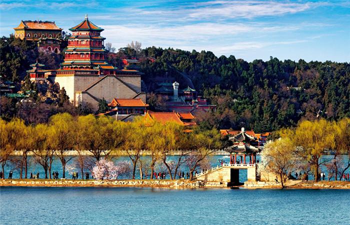 北京景点矢量素材