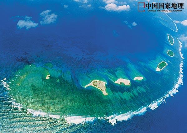 西沙,南沙,中沙群岛的疆域面积